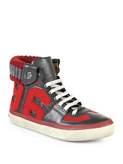 Jimmy Choo - Walcott High-Top Sneakers