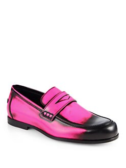 Jimmy Choo - Patent Leather Penny Loafers