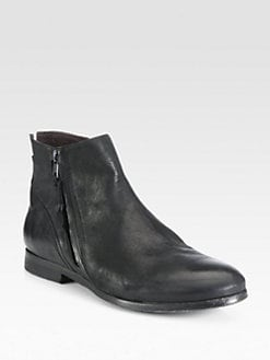 Diesel - Thinker Inside Zip Leather Ankle Boots