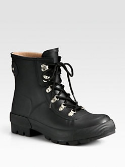 Hunter - Short Lace-Up Bootie