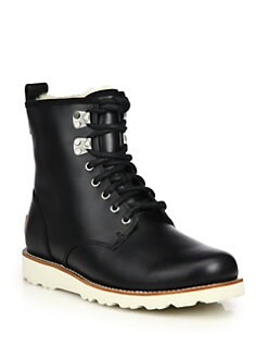 UGG Australia - Hannen Leather Lace-Up Boot