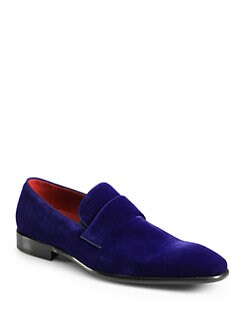 BOSS Black - Evelt Velvet Loafer