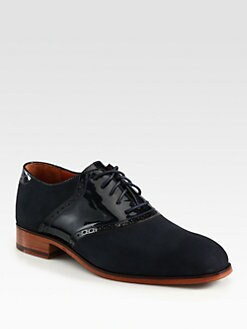 Florsheim By Duckie Brown - Suede Saddle Shoe