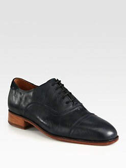 Florsheim By Duckie Brown - Washed Captoe Leather