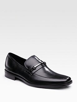 BOSS Black - Logo Bit Loafers