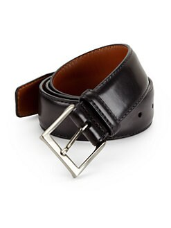 Saks Fifth Avenue Collection - Wellington Leather Belt