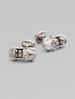 Saks Fifth Avenue Men's Collection - Sterling Silver Sportcar Cufflinks