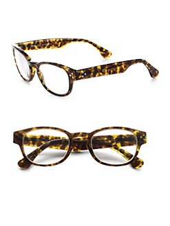 Saks Fifth Avenue Men's Collection - Reading Glasses/Tortoise