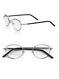 Saks Fifth Avenue Men's Collection - Vintage Round Readers