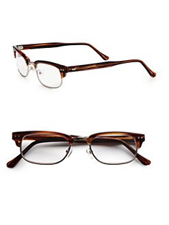 Saks Fifth Avenue Men's Collection - Vintage-Inspired Readers