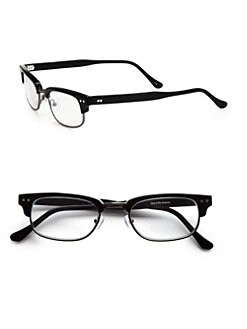 Saks Fifth Avenue Men's Collection - Shiny Black Readers