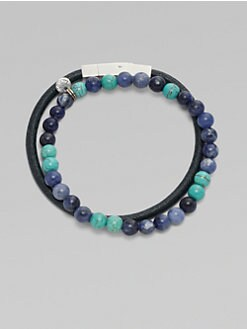 Saks Fifth Avenue Men's Collection - Beaded Bracelet Set