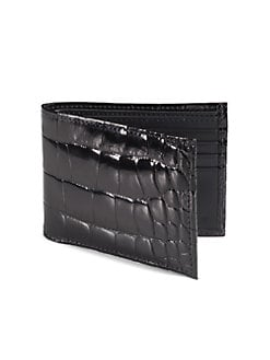 Saks Fifth Avenue Men's Collection - Alligator Billfold Wallet