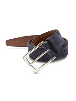 Saks Fifth Avenue Collection - Perforated Suede Belt