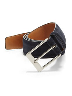 Saks Fifth Avenue Collection - Crosta Suede Belt