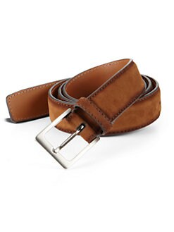 Saks Fifth Avenue Collection - Antidifu Suede Belt