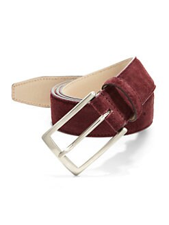 Saks Fifth Avenue Collection - Suede Belt