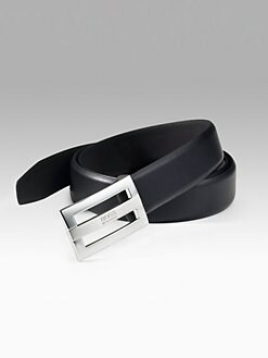 BOSS Black - Tailored Leather Belt