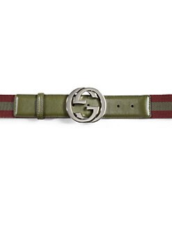 Gucci - Nylon Web Belt