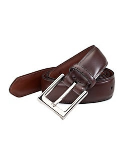 Saks Fifth Avenue Men's Collection - Leather Belt