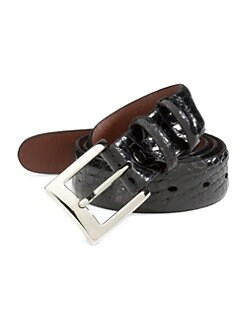 Saks Fifth Avenue Men's Collection - Alligator Belt