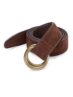 Polo Ralph Lauren - Suede O-Ring Belt