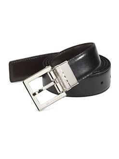 Burberry - Leather Belt