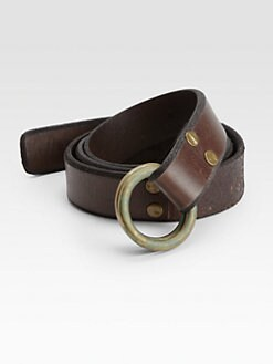 Polo Ralph Lauren - Leather O-Ring Belt