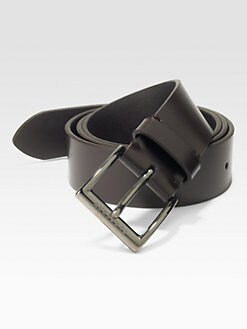 Burberry - Cleydon Leather Belt