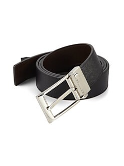 Bally - Reversible Grain Leather Belt