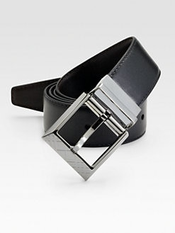 Burberry - Barlow Leather Belt