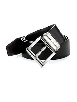 Prada - Calfskin Leather Belt