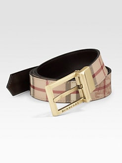 Burberry - Reversible Signature Belt