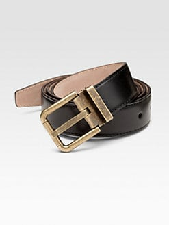 Dolce & Gabbana - Leather Belt