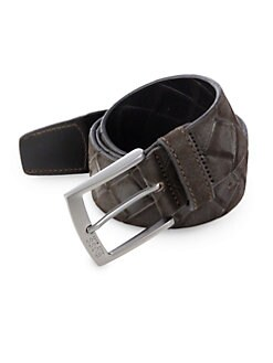 BOSS HUGO BOSS - Samorio Leather Belt