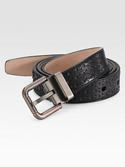 Dolce & Gabbana - Perforated Leather Belt