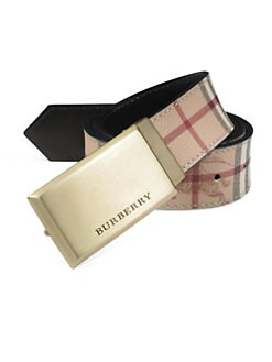 Burberry - Barnesfield Classic Haymarket Check Belt