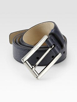 Tod's - Square Leather Belt