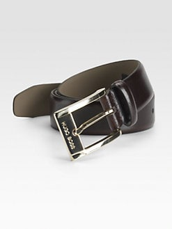 BOSS Black - Shiny Leather Belt
