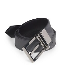 Burberry - Reversible Leather Belt