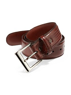 Saks Fifth Avenue Collection - Lizard Belt