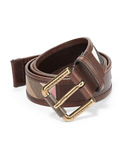 Burberry - Graffin Leather Belt