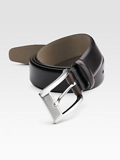 BOSS Black - Leather Dress Belt