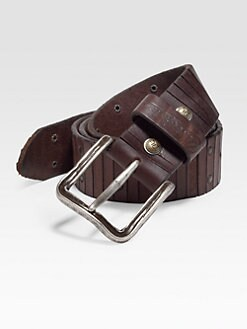 Robert Graham - Howell Leather Belt