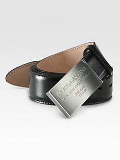Dolce & Gabbana - Plaque Belt