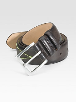 Paul Smith - Leather Stitch Belt