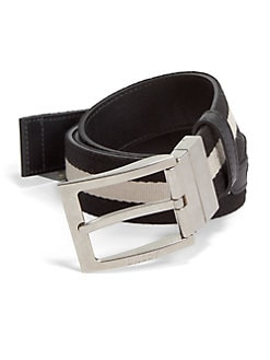 Bally - Fondente Reversible Belt