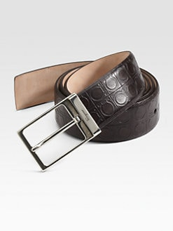 Salvatore Ferragamo - Adjustable Leather Belt