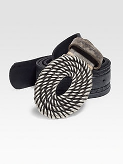 Robert Graham - Hallock Leather Belt
