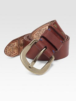 Robert Graham - Bridgehampton Leather Belt